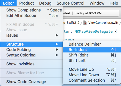 xcode-shortcuts-indentacao