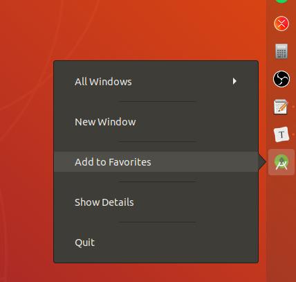 Como Criar Um Atalho Desktop do Android Studio no Ubuntu 03