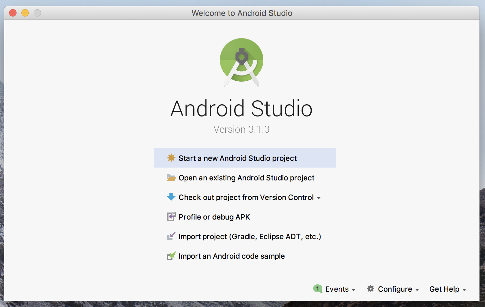 Como Instalar o Android Studio no Mac 03