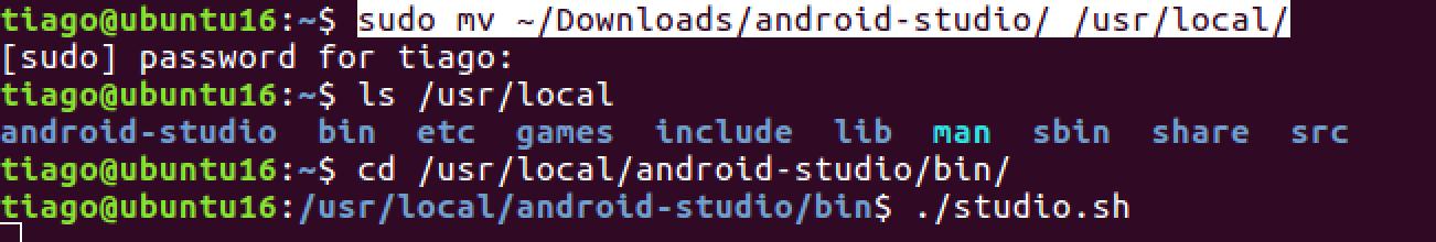 Como Instalar o Android Studio no Ubuntu 02