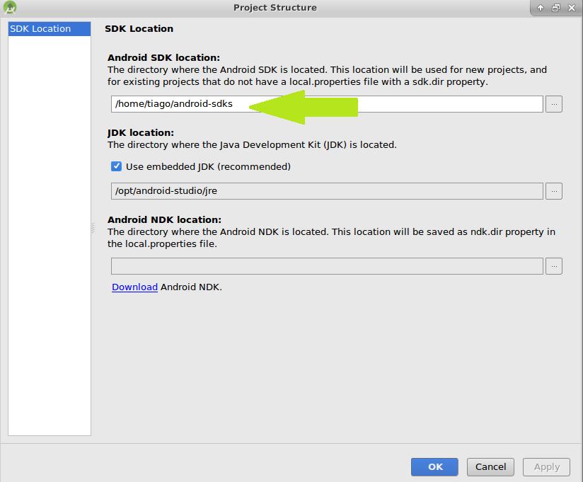 Como Instalar o Android Studio no Ubuntu 06